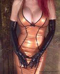 Honeyhair - Black latex gloves